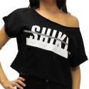 Shiki - Crop Top Scollo Barca