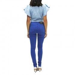 SHOP ART - Pantalone Blu Royal