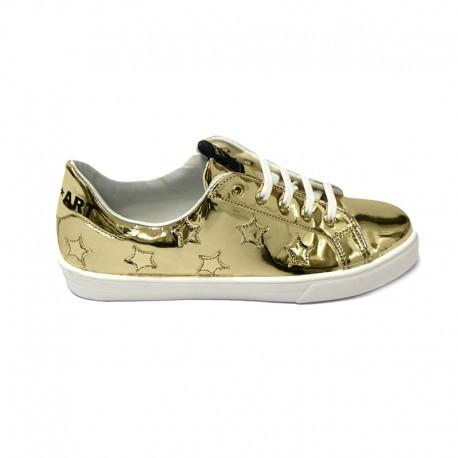 SHOP ART - Sneakers Oro Stelle