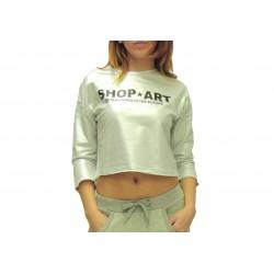 SHOP ART - Crop Top Argento
