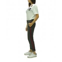 SHIKI - Pantalone In Vigogna Strech