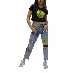 SHOP ART - Croptop Manica Corta