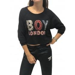 BOY LONDON - Felpa Con Borchie