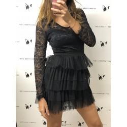 SEVEN17TEEN - Mini Dress Pizzo