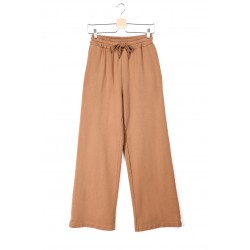 LUMINA - Trousers Tabacco