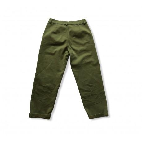 SHIKI - Pantalone Pences Verde