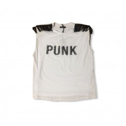 J'AIME - T-Shirt Con Frange