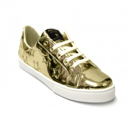 SHOP ART - Sneakers Oro Stelle